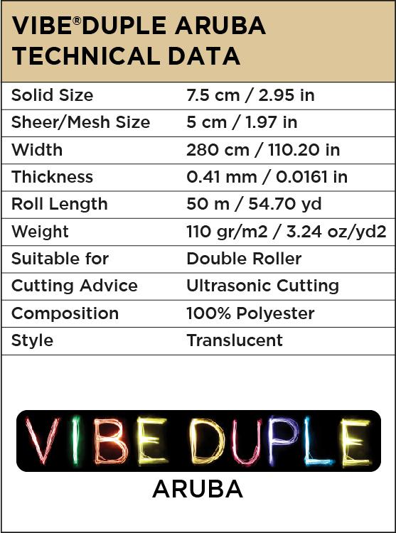 Vibe®Duple Aruba
